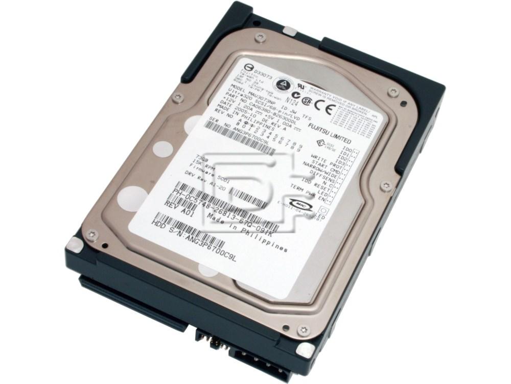 FUJITSU MAU3073NP SCSI Hard Drive image 1