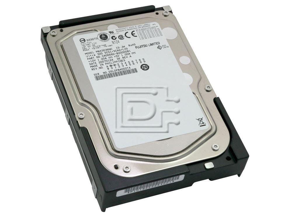 FUJITSU MAX3036NC SCSI Hard Drive image 1