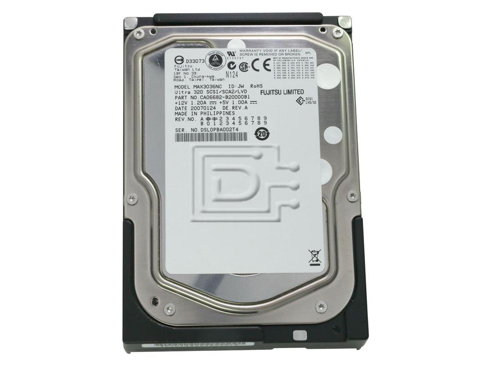 FUJITSU MAX3036NC SCSI Hard Drive image 2