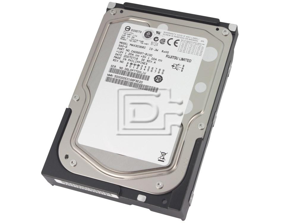 FUJITSU MAX3036RC CA06697-B100 SCSI Hard Drive image 1