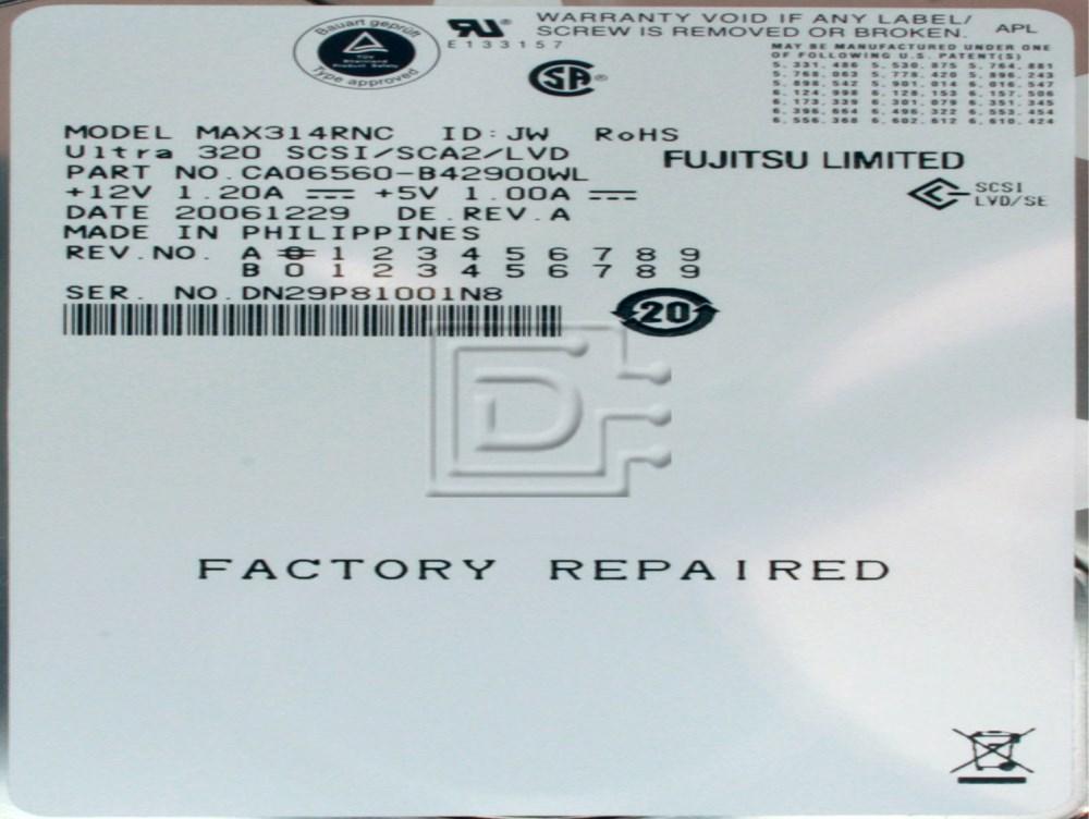 FUJITSU MAX3147NC SCSI Hard Disks image 2