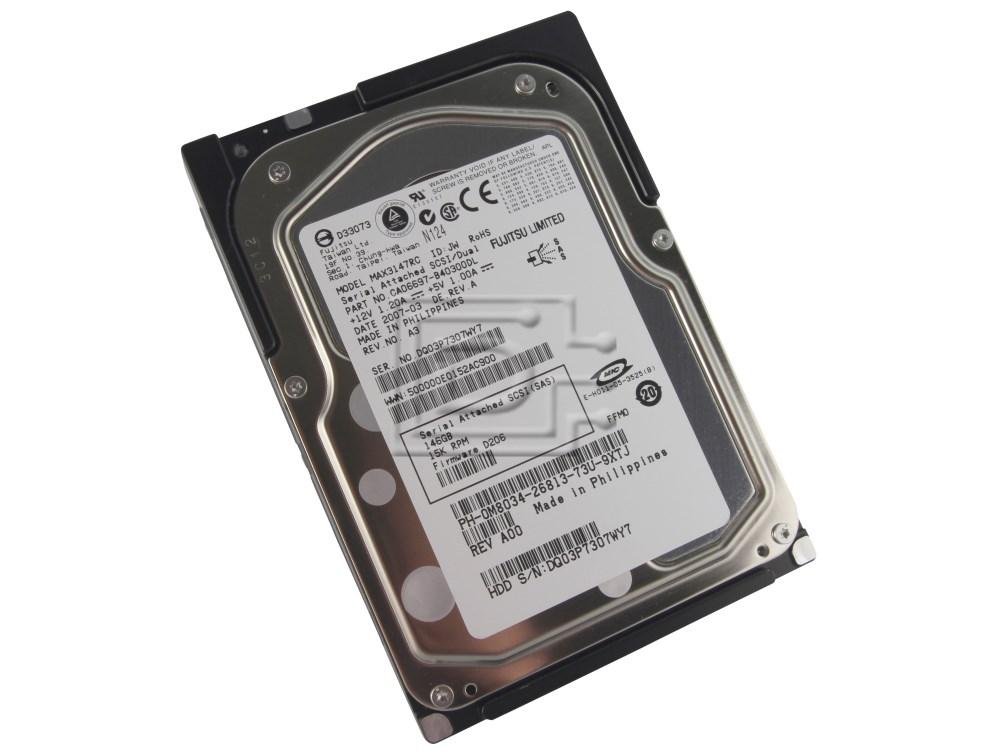 FUJITSU MAX3147RC 0M8034 M8034 CA06697-B40300DL SAS Hard Drives image 1