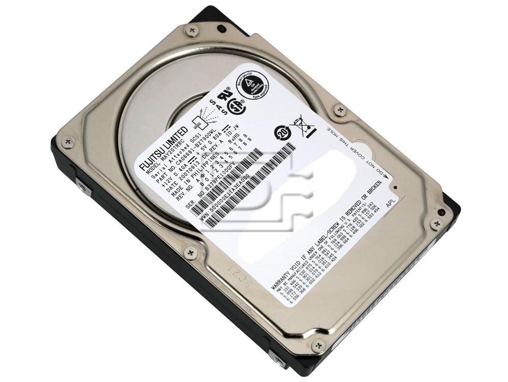 FUJITSU MAY2073RC SCSI Hard Drive image 2