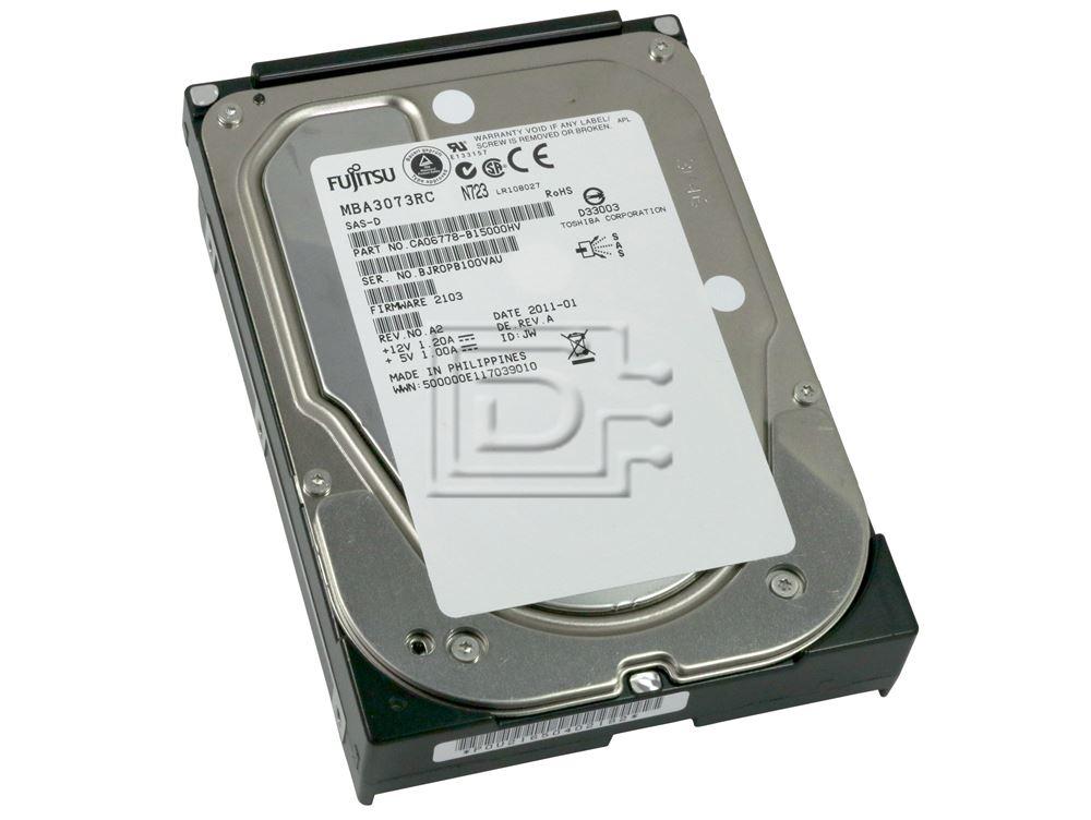 FUJITSU MBA3073RC CA06778-B100 SCSI Hard Drive image 1
