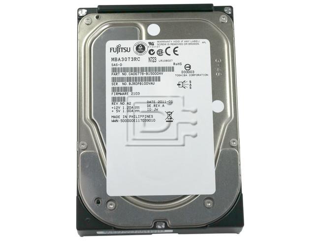 FUJITSU MBA3073RC CA06778-B100 SCSI Hard Drive image 2