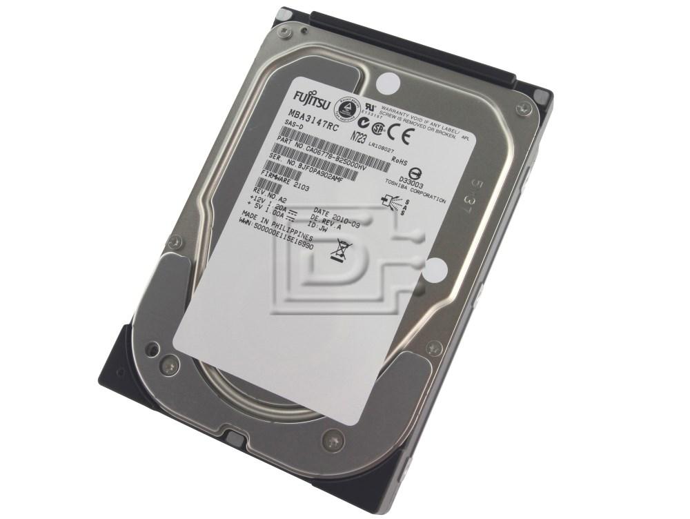 FUJITSU MBA3147RC CA06778-B200 SCSI SAS Hard Drive image 1