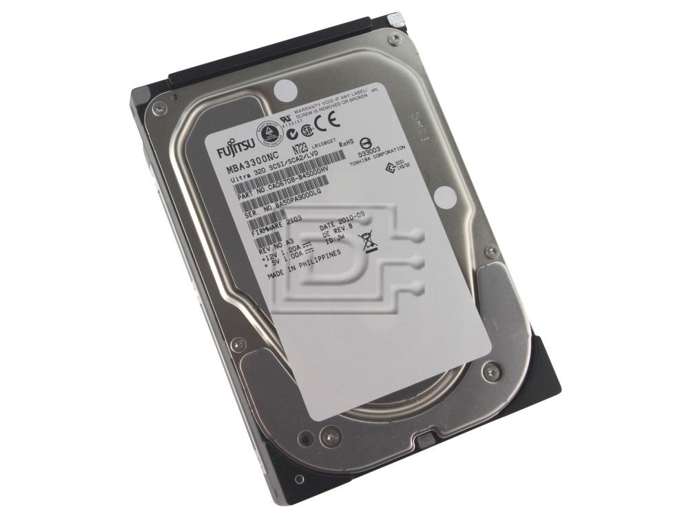 FUJITSU MBA3300NC SCSI Hard Disk Drives image 1