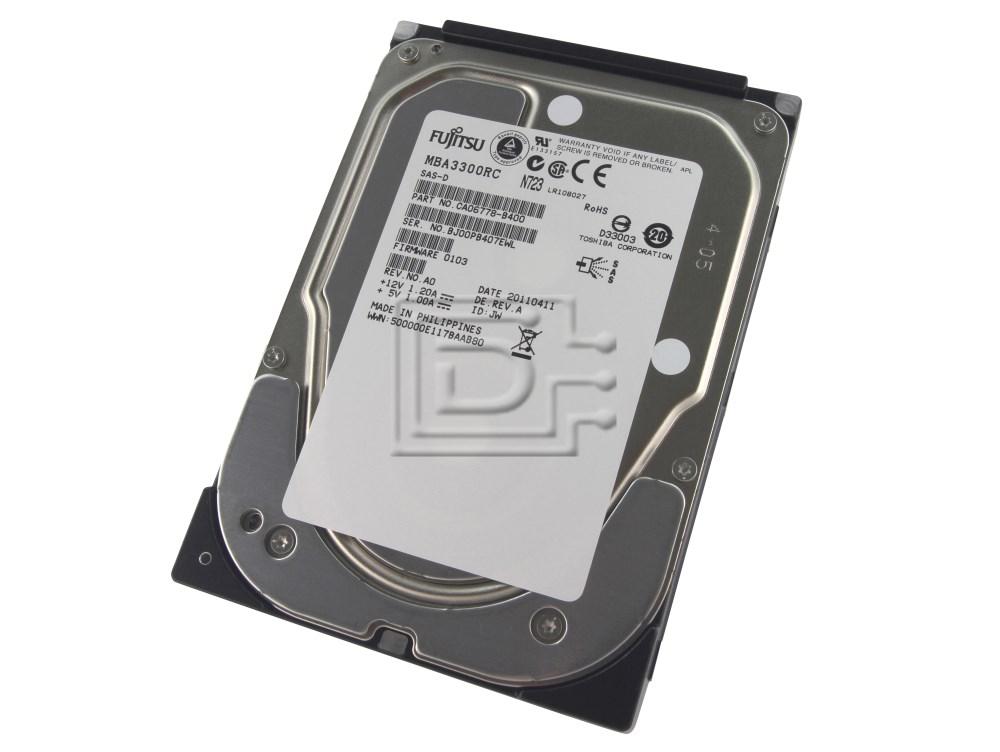 FUJITSU MBA3300RC 0N226K N226K CA06778-B41500DM CA06778-B400 SAS Hard Disk Drives image 1