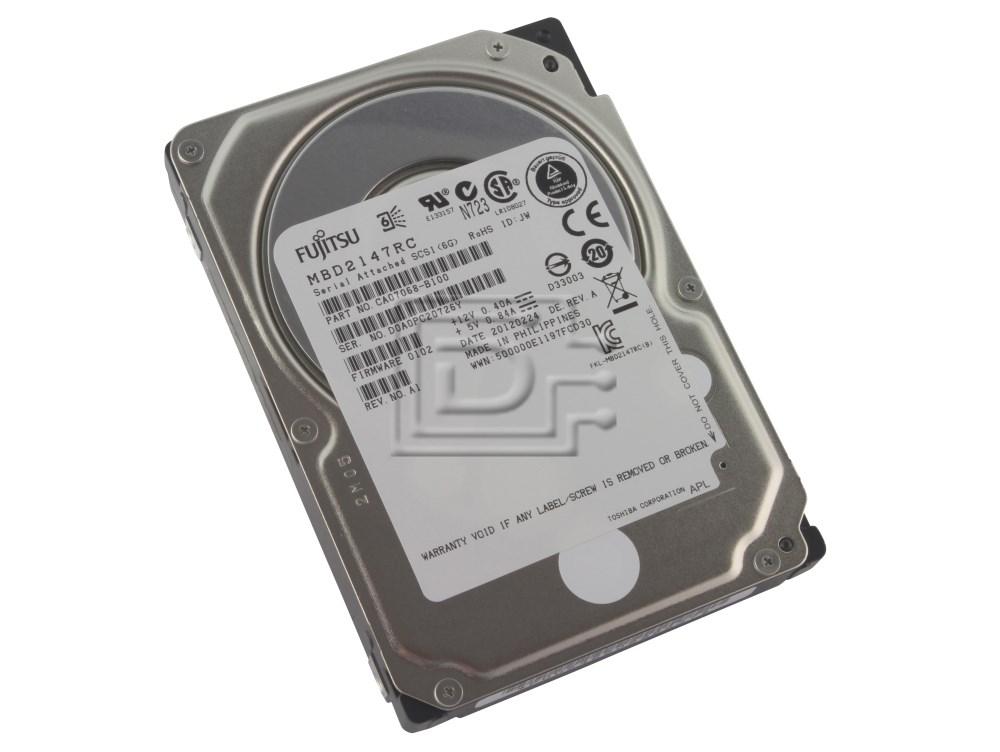 "Fujitsu MBD2147RC 146GB 10000RPM 6Gb//s 2.5/"" SAS Hard Drive"