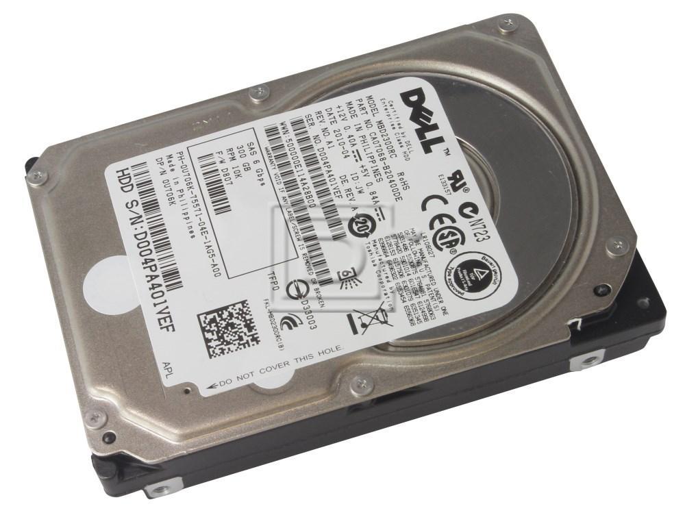 "FUJITSU MBD2300RC 300GB 10K RPM 2.5/"" SAS 6Gb//s 16MB HDD"