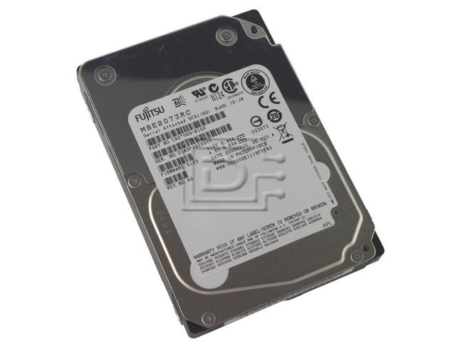 FUJITSU MBE2073RC CA07069-B100 SAS Hard Drive image 1