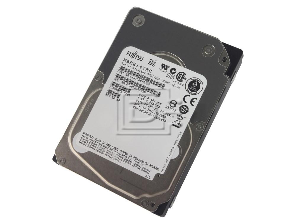 FUJITSU MBE2147RC CA07069-B200 SAS Hard Drive image 1