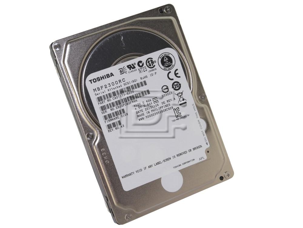 Toshiba MBF2300RC CA07173-B200 SAS Hard Drive image 1
