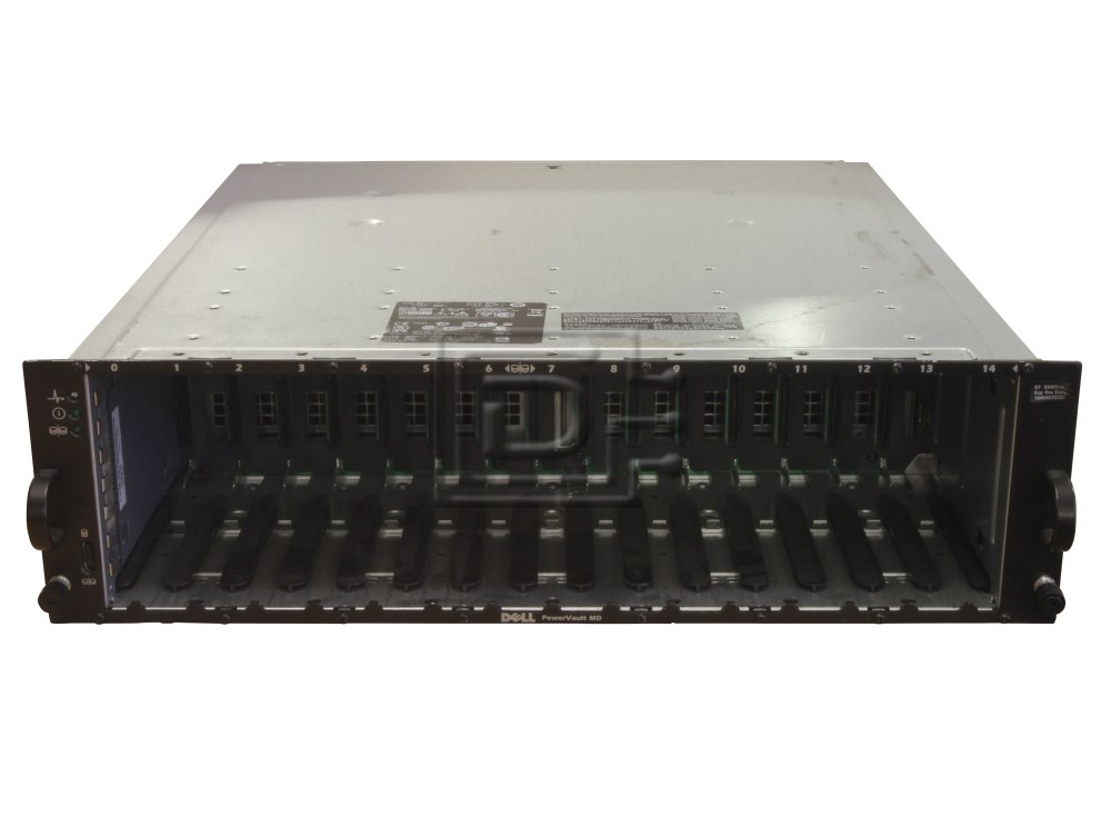 Dell MD1000 Powervault MD1000 SCSI Array DEL-MD1000-BN-OE image 1