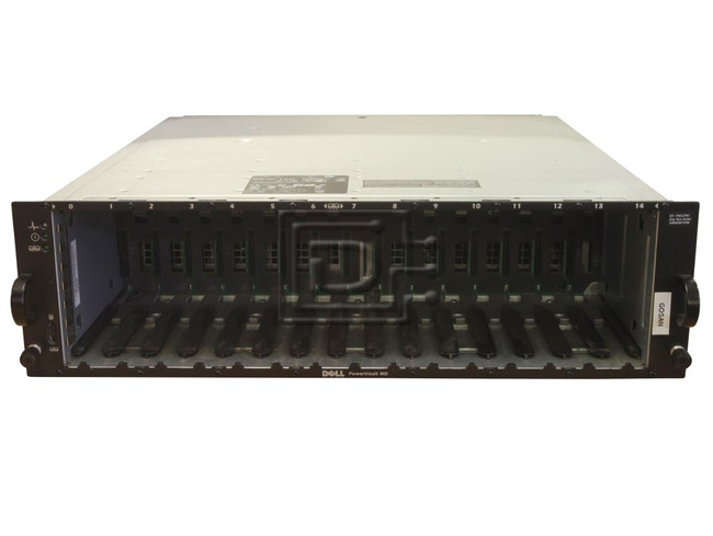 Dell MD3000i Powervault MD3000i SCSI Array DEL-MD1000-BN-OE image 1