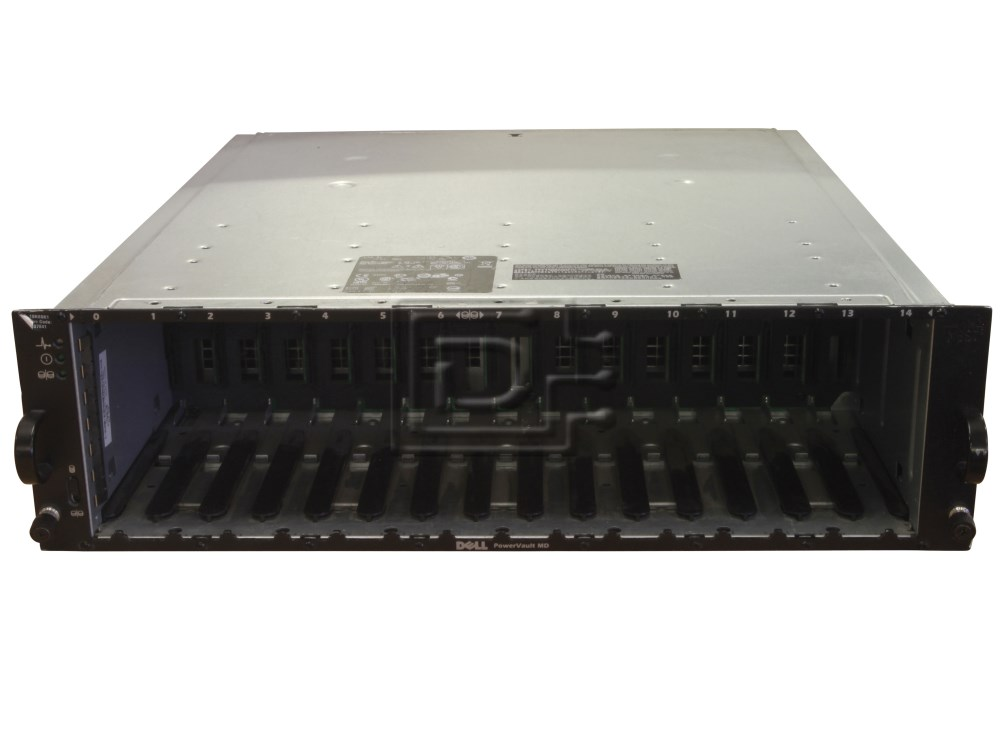 Dell MD3000 Powervault MD3000 SCSI Array DEL-MD1000-BN-OE image 1