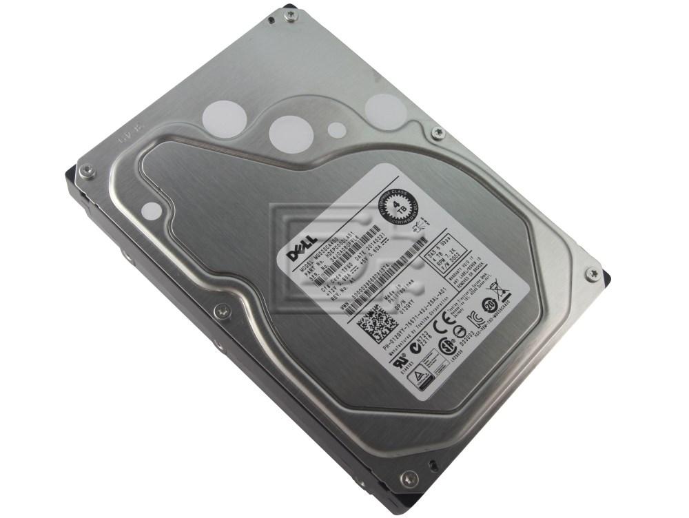 12GYY Dell 012GYY 4TB 7.2K 3.5 LFF NL SAS HDD  MG03SCA400 with Tray
