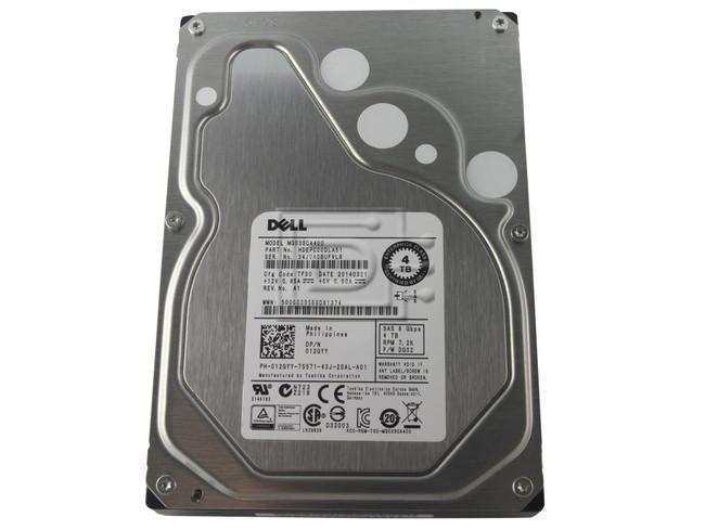 Toshiba MG03SCA400 12GYY 012GYY 4TB SAS Hard Drive image 2