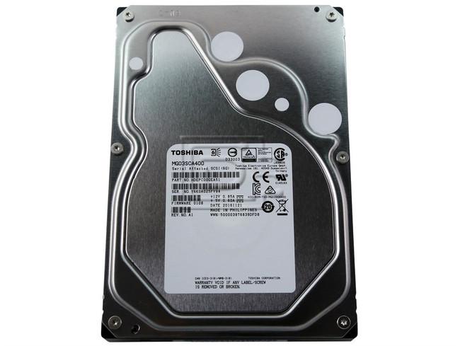 Toshiba MG03SCA400 4TB SAS Hard Drive image 1
