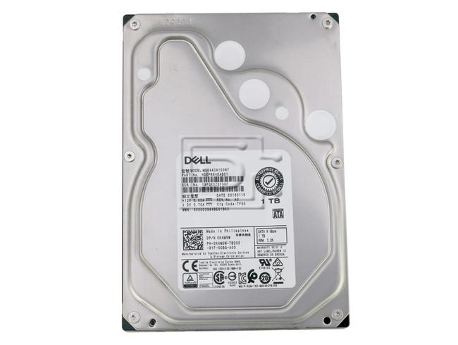 Toshiba MG04ACA100NY K4M5W 0K4M5W HDEPR84DAB51 1TB SATA Hard Drive image 2
