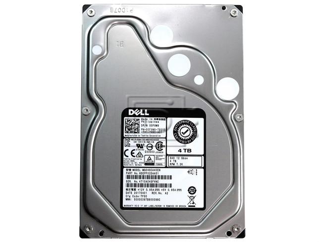 Toshiba MG04SCA40EN HDEPF02DAA51 00F9W8 0F9W8 SAS Hard Drive image 1