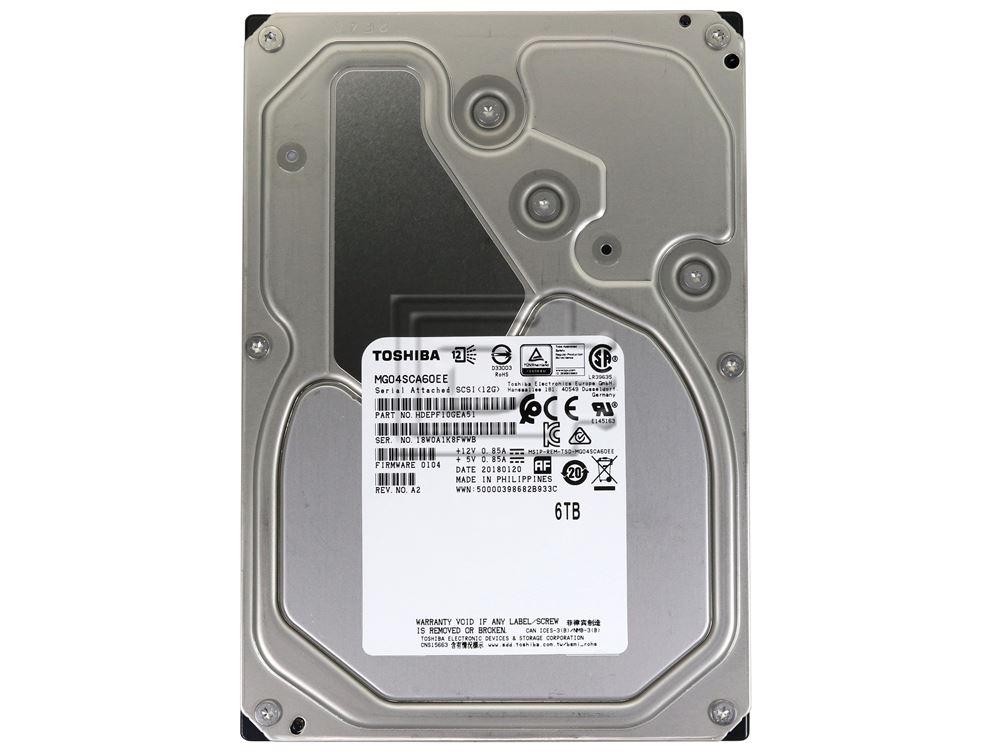 Toshiba MG04SCA60EE HDEPF10GEA51 HDEPF10JBA51F SAS Hard Drive image 2