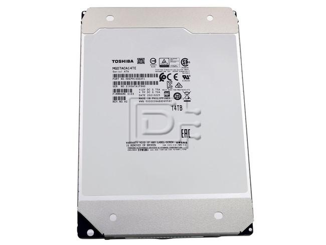 Toshiba MG07ACA14TE SATA Hard Drive image 1