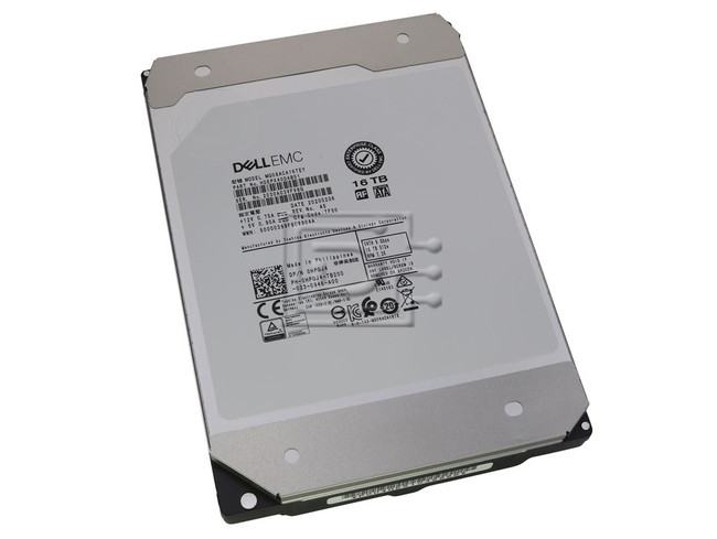 Toshiba MG08ACA16TEY HDEPX40DAB51 HPGJ4 0HPGJ4 MG08ACA16TE SATA Hard Drive image 1