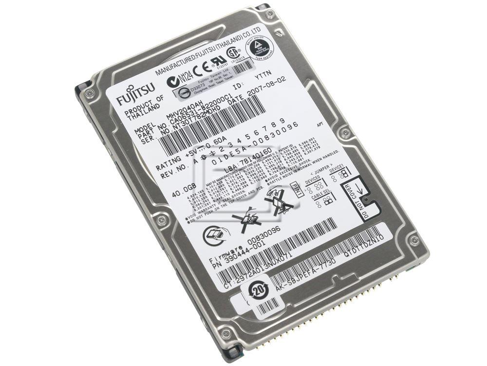 """FUJITSU MHV2040AH 2.5"""" IDE Hard Drive image 1"""