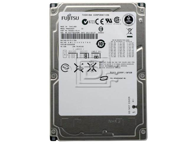 """FUJITSU MHW2040AT 2.5"""" IDE Hard Drive image 2"""