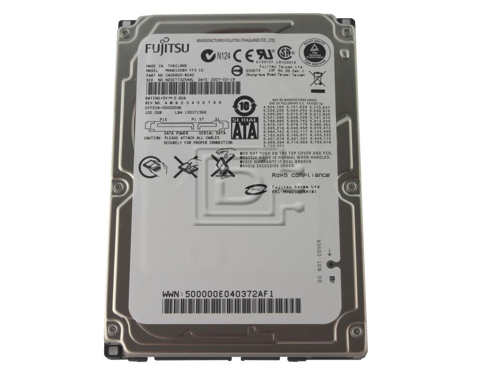 "FUJITSU MHW2100BH Laptop SATA 2.5"" Hard Drive image 1"