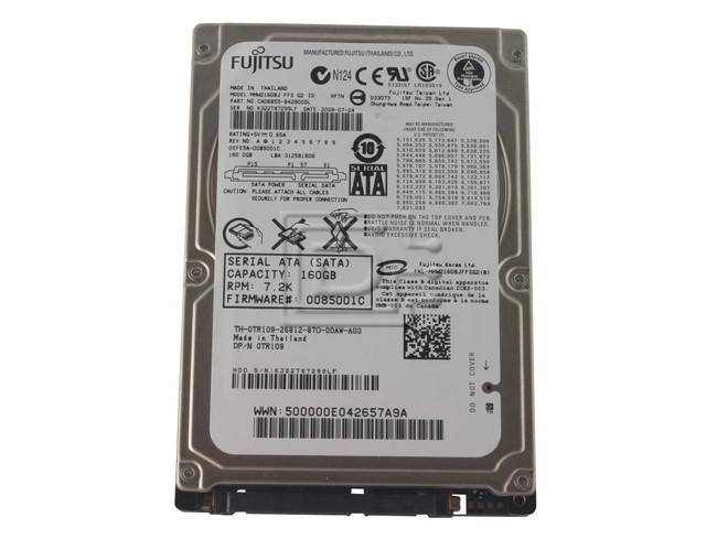 FUJITSU MHW2160BJ PK868 0PK868 SATA Hard Drive image 1