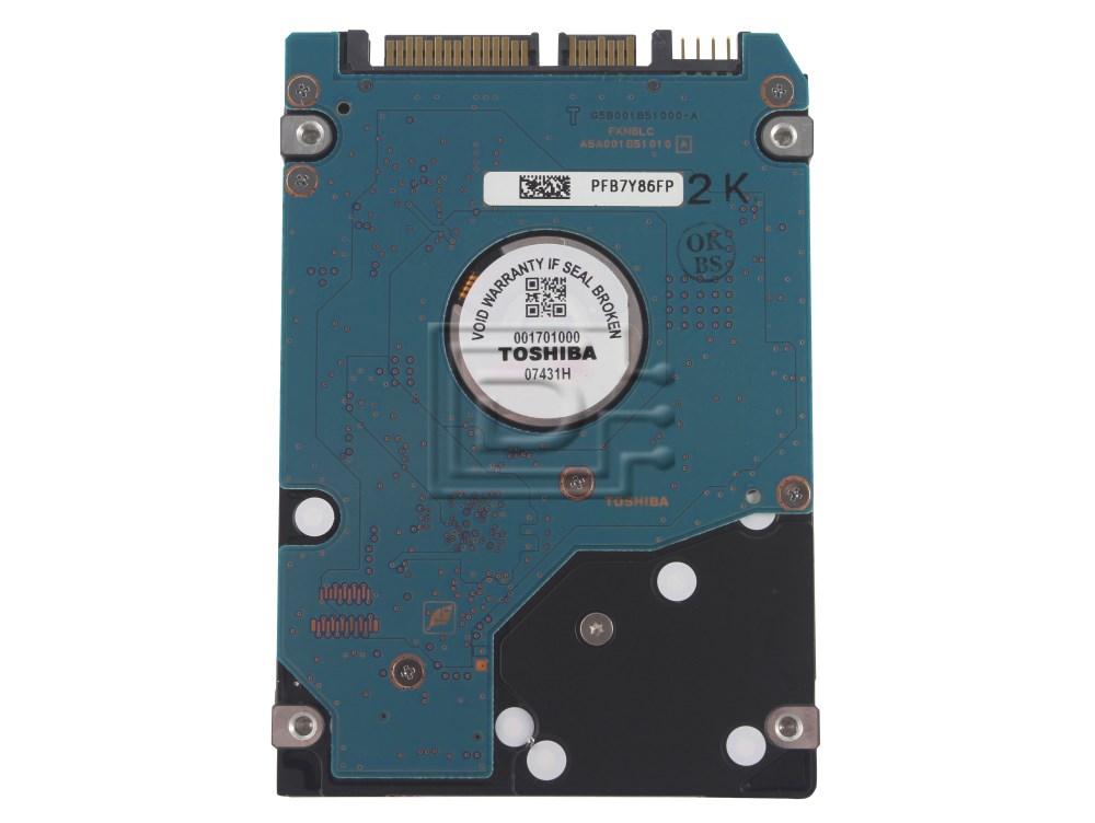 Toshiba MK6037GSX Laptop SATA Hard Drive image 2