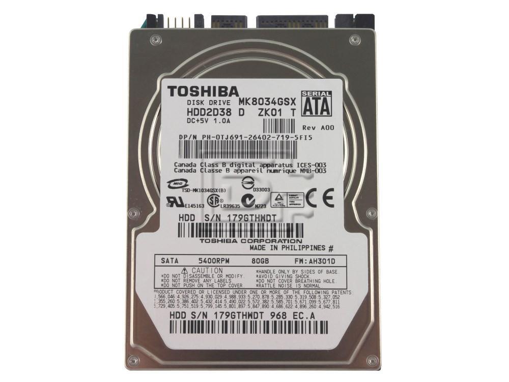 Toshiba MK4032GAX Hard Drive