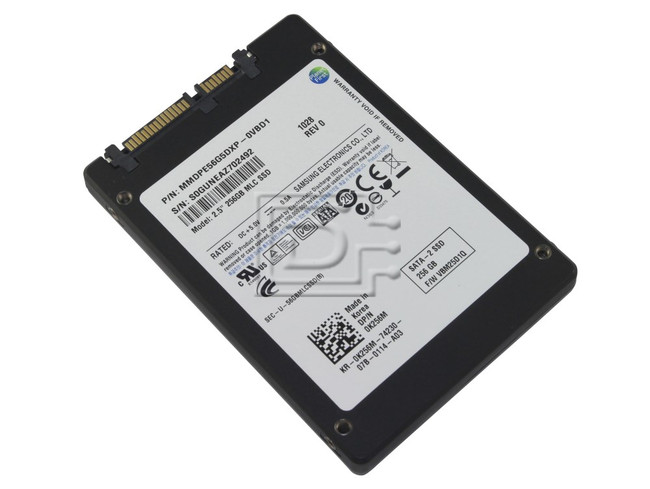 SAMSUNG MMDPE56G5DXP-0VB MMDPE56G5DXP-0VBD1 K256M 0K256M KR-0K256M-01851-02R-0445-A02 Laptop SATA Flash SSD Solid State Drive image 2