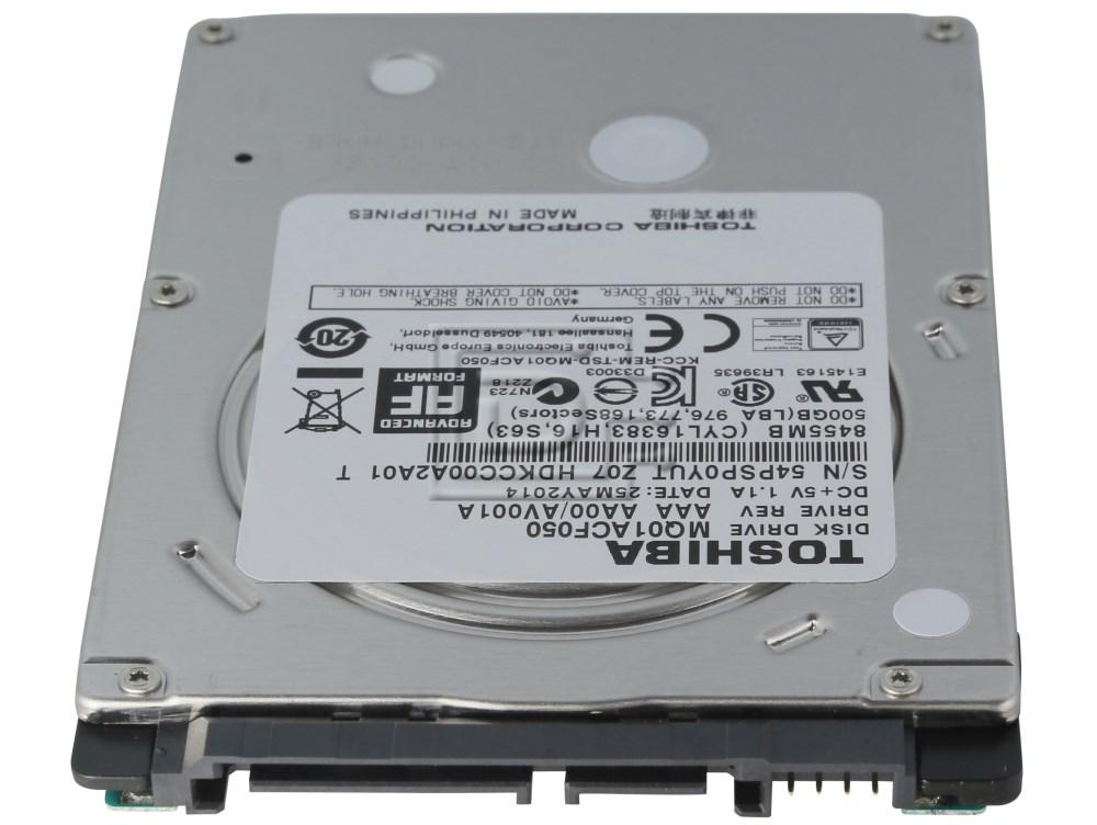 "Toshiba MQ01ACF050 HDKCC00 Laptop 2.5"" SATA Hard Drives image 3"