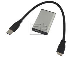 Generic CAS-MSATA-USB-BN-OE External mSATA SSD USB Case