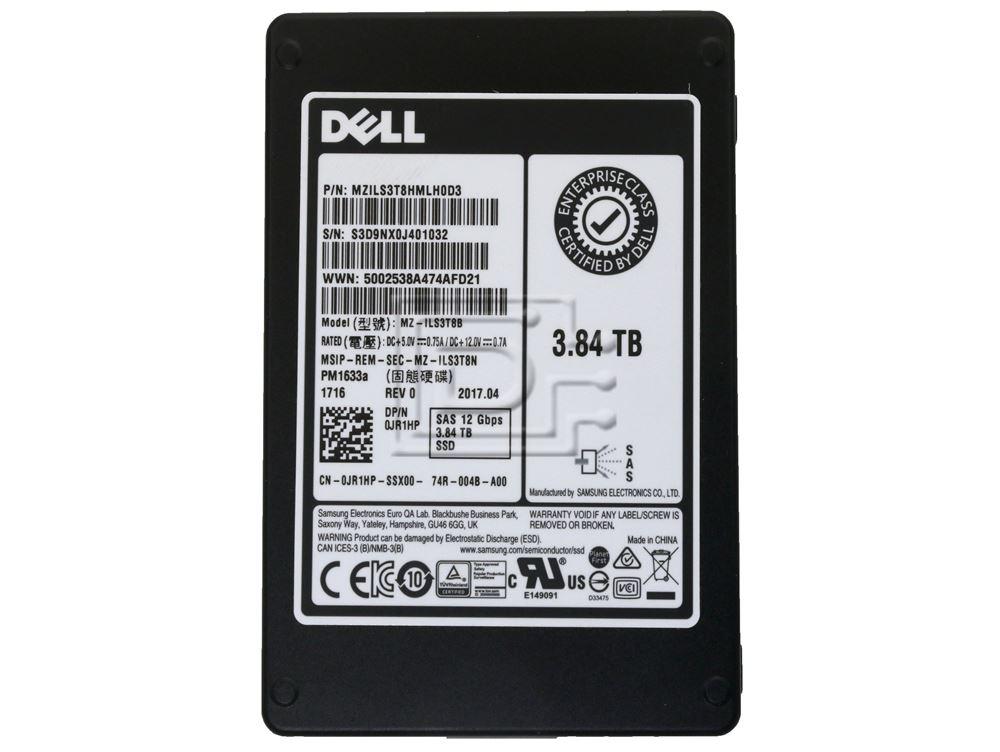 SAMSUNG MZILS3T8HMLH0D3 0JR1HP JR1HP SAS Solid State Drive image 2