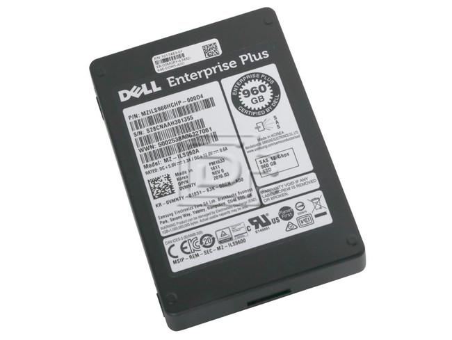SAMSUNG MZILS960HCHP-000D4 VMN7Y 0VMN7Y MZ-ILS960A SAS SSD Compellent image 1
