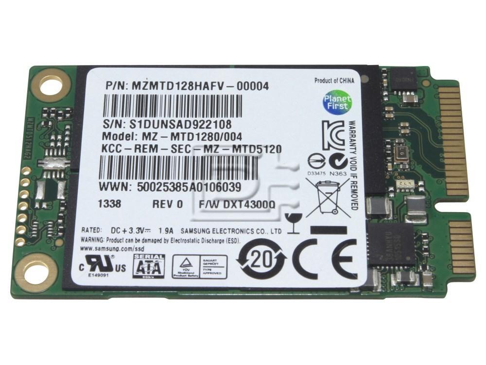 SAMSUNG MZMTD128HAFV MZMTD128HAFV-00004 SATA mSATA SSD image 1