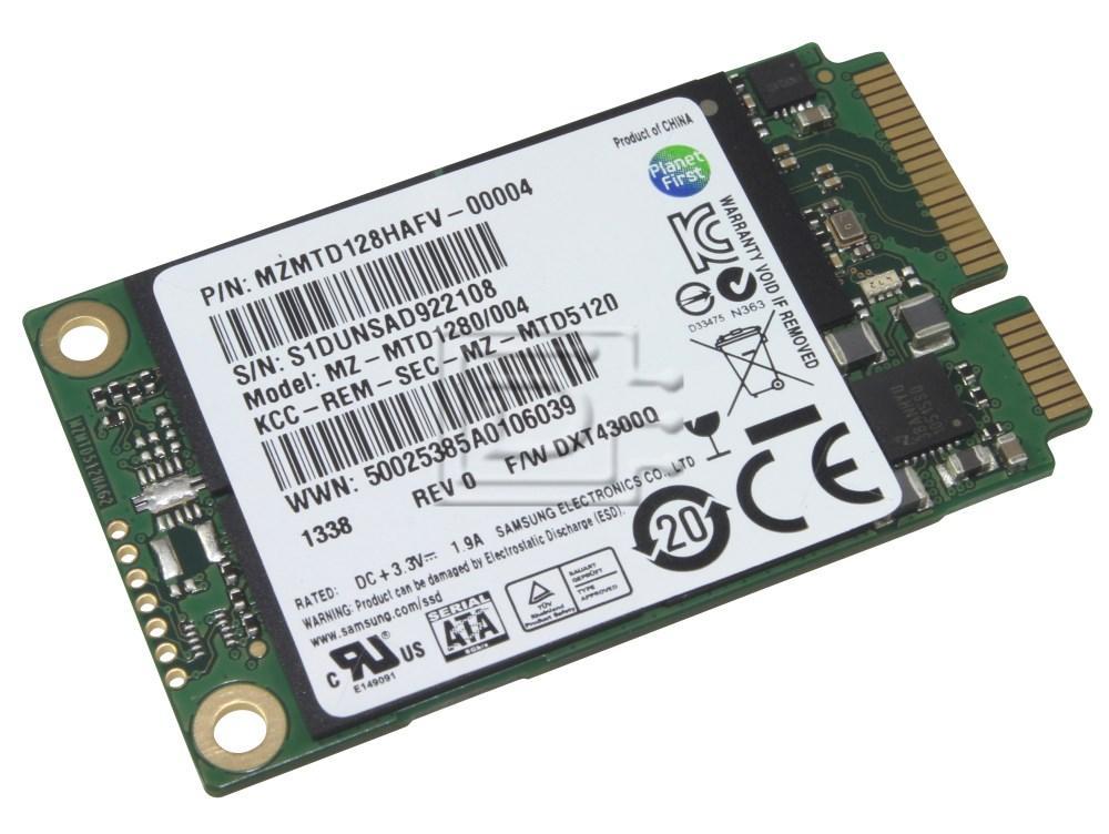 SAMSUNG MZMTD128HAFV MZMTD128HAFV-00004 SATA mSATA SSD image 2