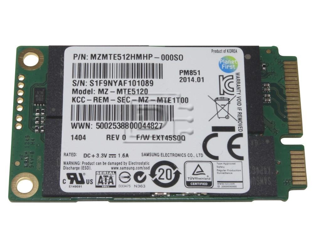 SAMSUNG MZMTE512HMHP MZMTE512HMHP-000S0 SATA mSATA SSD image 1