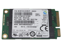 SAMSUNG MZMTE512HMHP MZMTE512HMHP-000D7 R7J34 0RJ734 SATA mSATA SSD