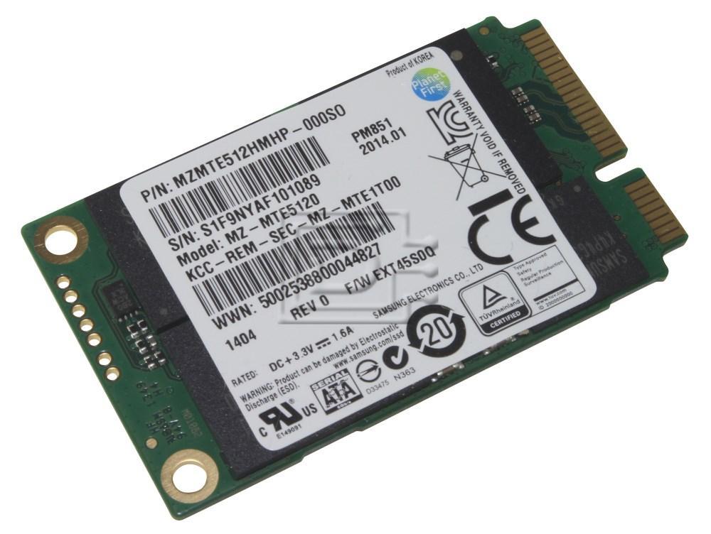 SAMSUNG MZMTE512HMHP MZMTE512HMHP-000S0 SATA mSATA SSD image 2
