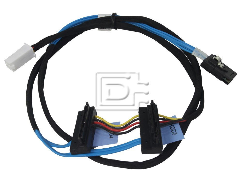Dell ND63T 0ND63T SAS Hard Drive Cable T410 image 1