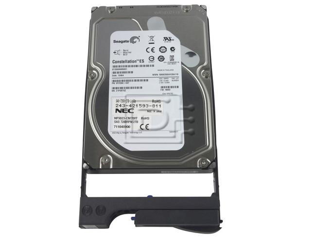 NEC NF5023-CM708T 711048900 243-421593-811 9YZ268-047 NEC NF5023-CM708T SAS Hard Drive Kit image 1
