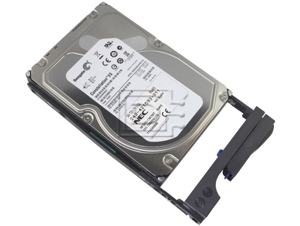 NEC NF5023-CM708T 711048900 243-421593-811 9YZ268-047 NEC NF5023-CM708T SAS Hard Drive Kit image 2