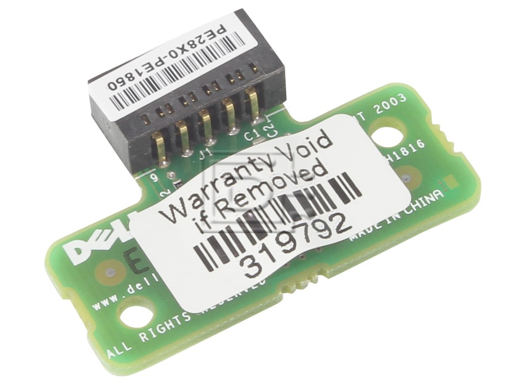 Dell NJ020 H1813 H1816 0NJ020 0H1813 0H1816 RAID Key PowerEdge image 1