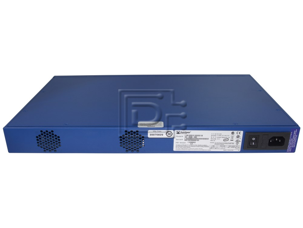Juniper NS-050-001 Hardware Firewall Appliance image 2