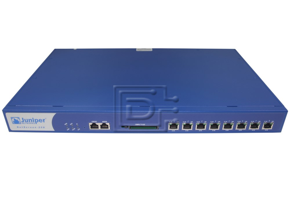Juniper NS-208B-001 NS-208-001 Hardware Firewall Appliance image 1